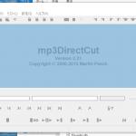 「mp3DirectCut」を用いて語学用に音声ファイルを分割、単語や文章単位の音声ファイルを作る方法